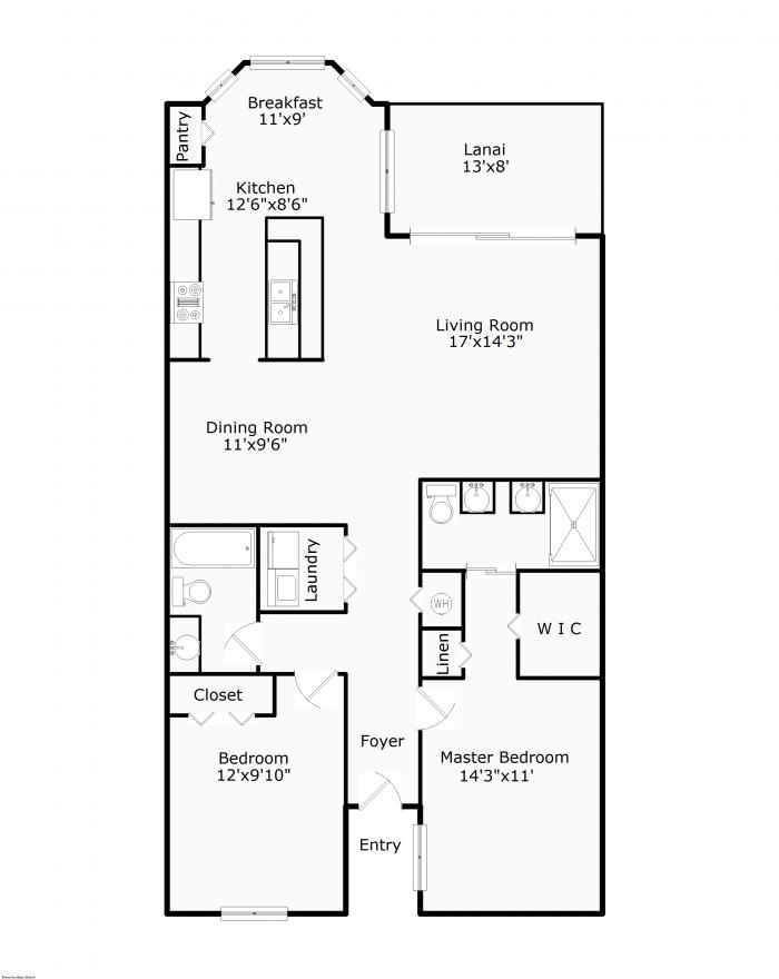 Interactive Floor Plan For 8570 Kingbird Loop Fort Myers